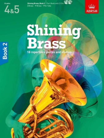 SHINING BRASS Book 2 + CDs
