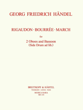 RIGAUDON, BOURREE and MARCH