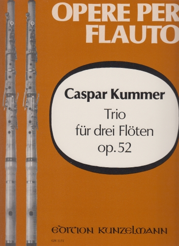 TRIO FOR THREE FLUTES Op.52