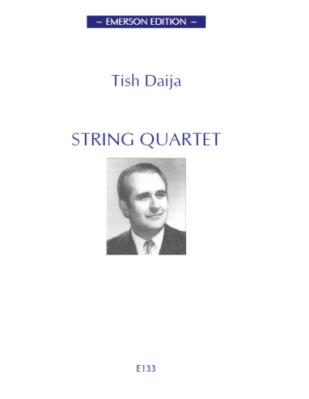 STRING QUARTET No.1 score & parts