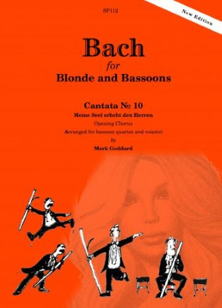 BACH FOR BLONDE AND BASSOONS (score & parts)