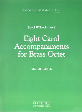 EIGHT CAROL ACCOMPANIMENTS (set of parts)
