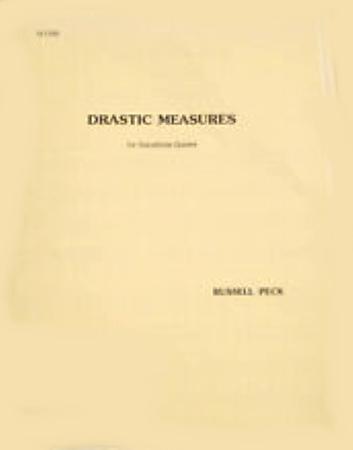 DRASTIC MEASURES (score & parts)