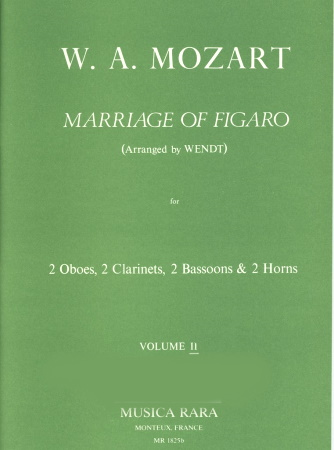 THE MARRIAGE OF FIGARO Volume 2 (score & parts)
