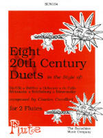 EIGHT 20th CENTURY DUETS