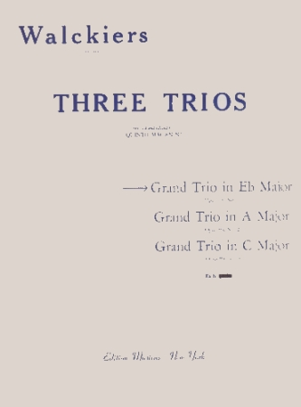 GRAND TRIO in Eb Op.93 No.1