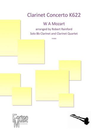 CONCERTO FOR CLARINET K622 (score & parts) - Digital Edition