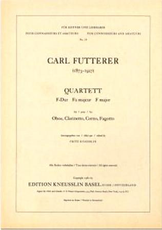 QUARTET in F major (parts only)