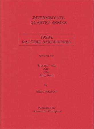 1920s RAGTIME SAXOPHONES (score & parts)