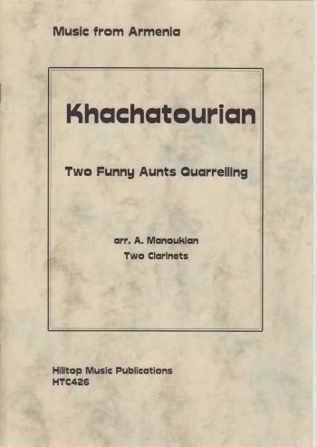 TWO FUNNY AUNTS QUARRELLING