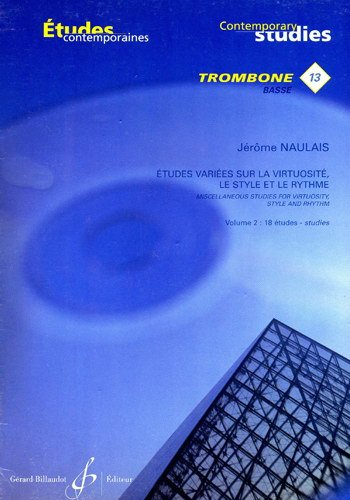 ETUDES VARIEES Virtuosite, Style et Rhythme Volume 2