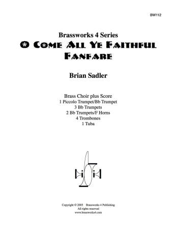 O COME ALL YE FAITHFUL Fanfare