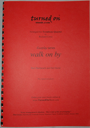 WALK ON BY (score & parts)