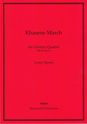 KHASENE MARCH (score & parts)