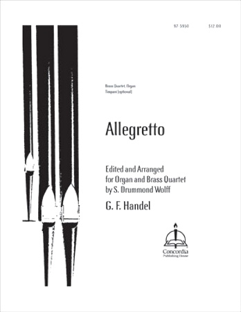 ALLEGRETTO from 'Water Music'