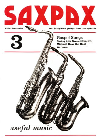 SAX PAX 3: Gospel Songs (score & parts)