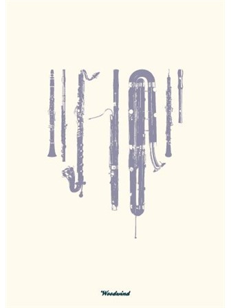 GREETING CARD Woodwind