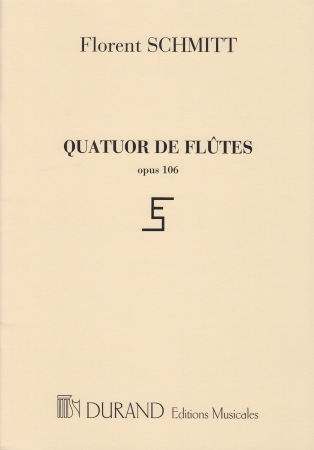 QUATUOR DE FLUTES Op.106 set of parts