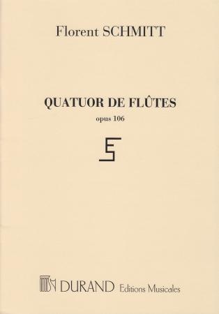 QUATUOR DE FLUTES Op.106 set of parts