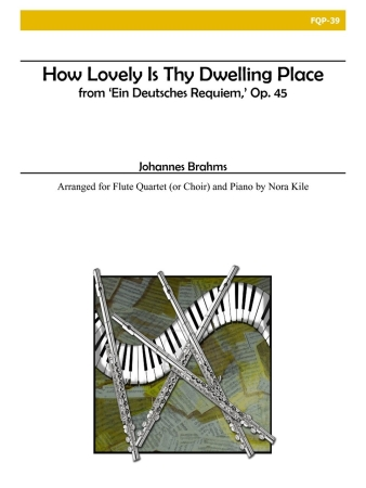 HOW LOVELY IS THY DWELLING PLACE (score & parts)