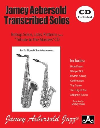 TRANSCRIBED SOLOS + CD