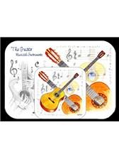 PLACEMAT AND COASTER SET Guitar
