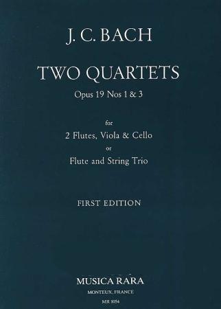 TWO QUARTETS Op.19 Nos.1 & 3