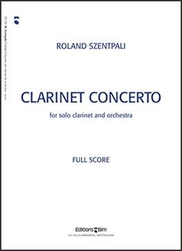CLARINET CONCERTO (study score)