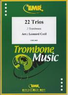 22 TRIOS Volume 2 bass clef