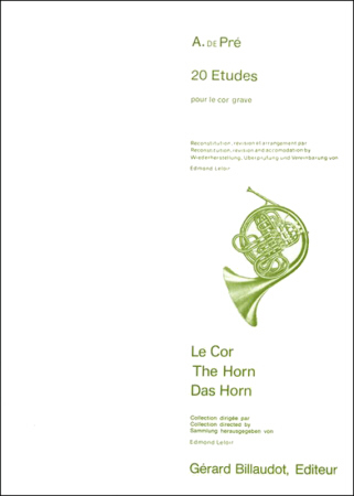 20 ETUDES for Low Horn