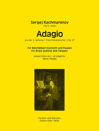 ADAGIO from Symphony No.2 Op.27 (score & parts)
