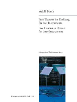 FIVE CANONS IN UNISON (score & parts)