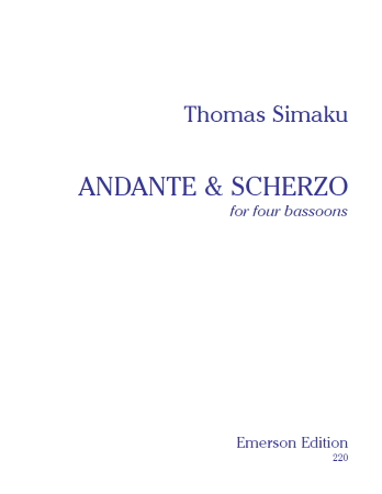 ANDANTE & SCHERZO