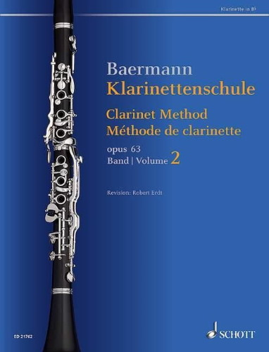 CLARINET METHOD Op.63 Volume 2