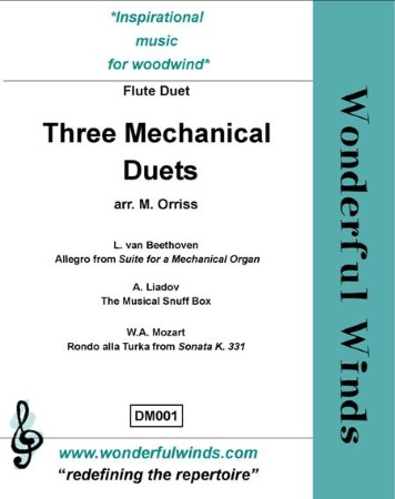 THREE MECHANICAL DUETS