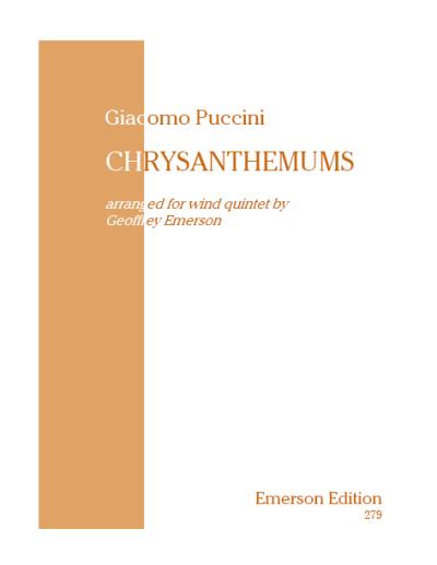 CHRYSANTHEMUMS score & parts