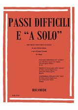 SOLOS AND DIFFICULT PASSAGES Volume 5