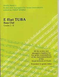 SCALES & ARPEGGIOS Grades 1-8 Eb Tuba (bass clef)
