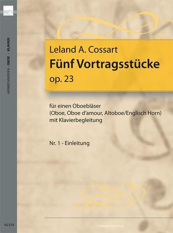 FUNF VORTRAGSTUCKE Op.23