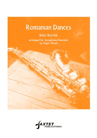ROMANIAN DANCES (score & parts)