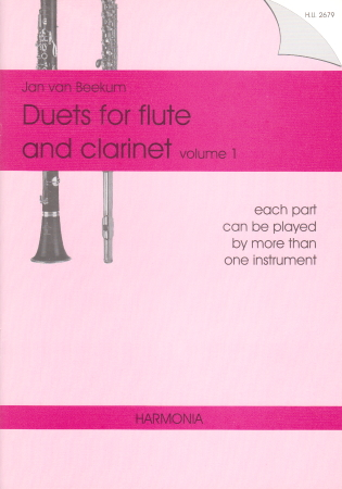 DUETS FOR FLUTE AND CLARINET Volume 1