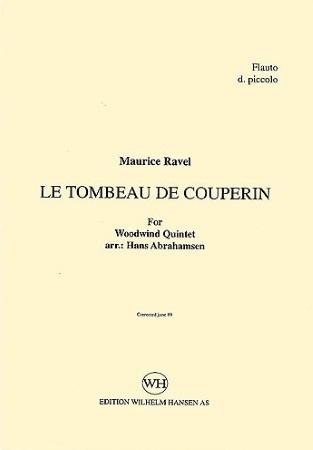 LE TOMBEAU DE COUPERIN (set of parts)