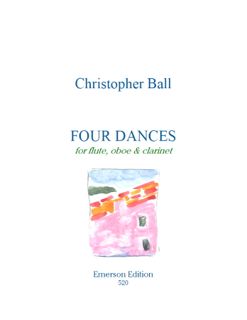 FOUR DANCES (score & parts)