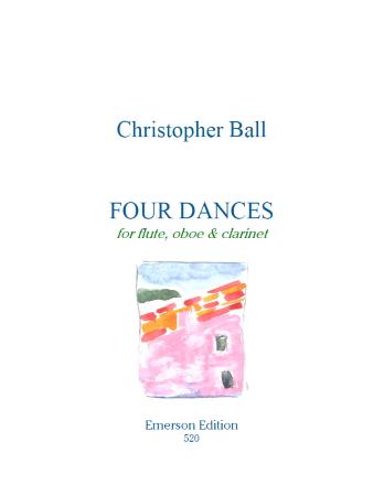 FOUR DANCES (score & parts)