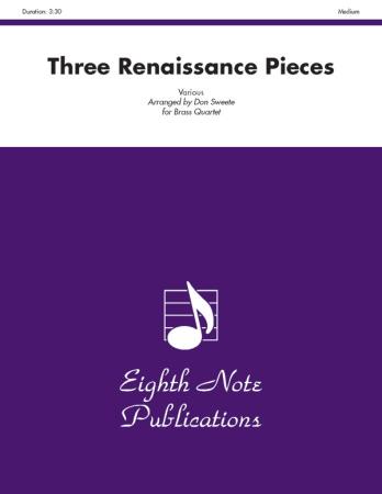 THREE RENAISSANCE PIECES