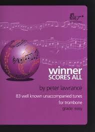 WINNER SCORES ALL Trombone Part (bass clef)