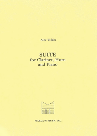 SUITE for Clarinet, Horn & Piano (1964)