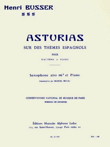 ASTURIAS on Spanish Themes Op.84