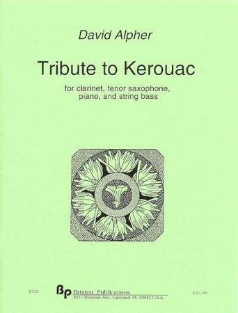 TRIBUTE TO KEROUAC score & parts