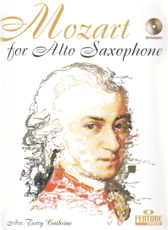 MOZART FOR ALTO SAXOPHONE + CD